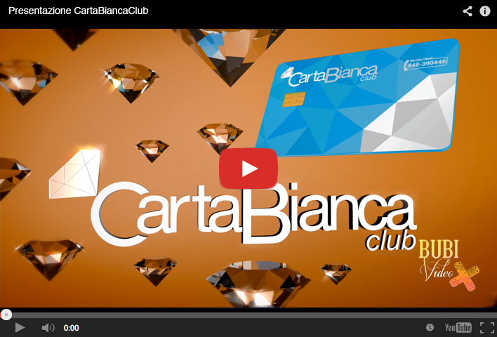 video // Presentazione CartaBiancaClub